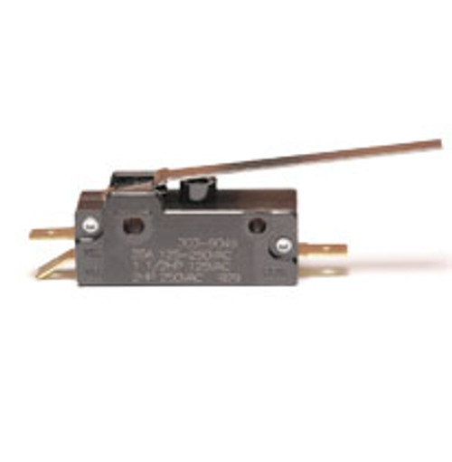 EMB Snap Action Switch 303-9049, normally open & normally closed, long lever arm