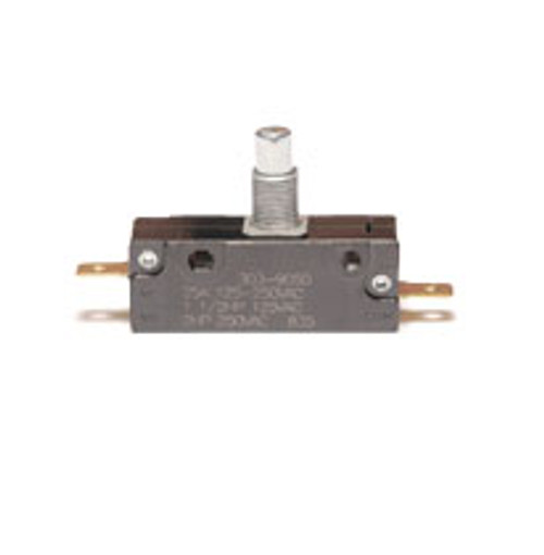 EMB Snap Action Switch 303-9050, normally closed, overtravel plunger, Z5390211, 919677, 25043, interlock switch, 42-1514, 7000400