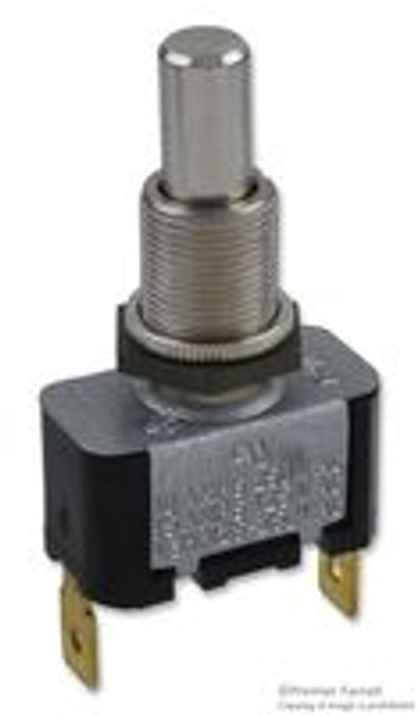 8444K2 Eaton Momentary On - Off Push Button, Spade Terminals