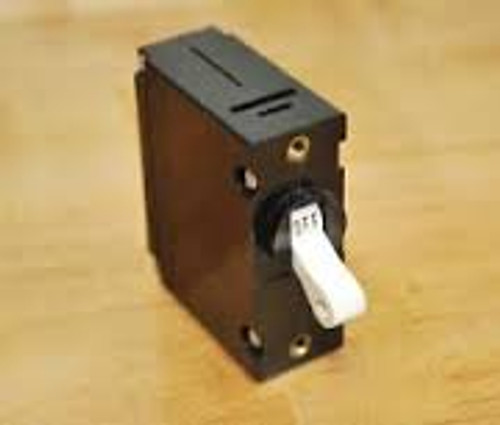 Carling Technologies Circuit breaker, 5 amp, A Series, single pole, magnetic AA1-B0-34-450-4B1-C