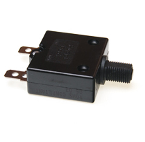 15 amp push to reset circuit breaker, black button, Carling, clb-153-27e3n-b-a