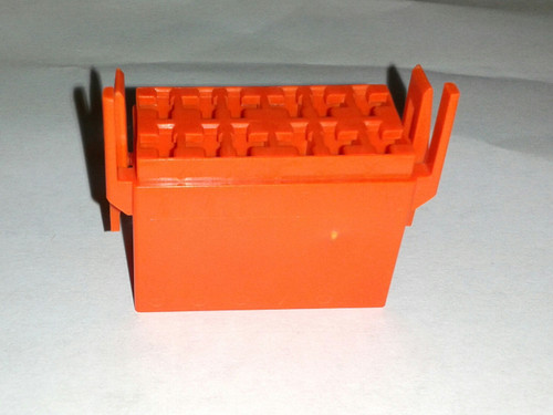 LC1-05 Carling L Series terminal housing connector, orange