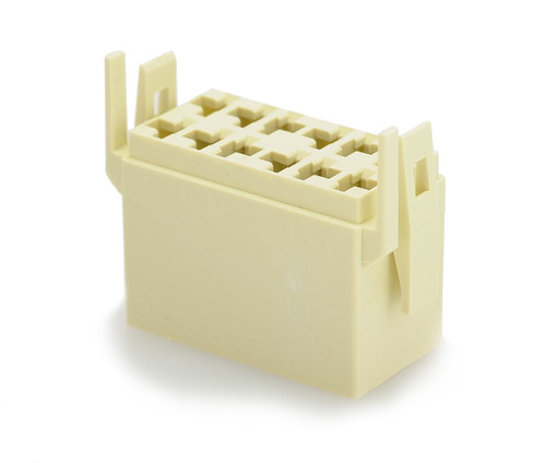Terminal Connector Housing for L Series Rocker Switch, White