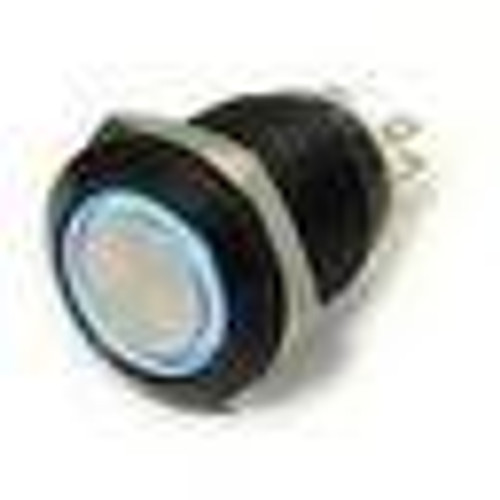 E Switch Anti Vandal push button, momentary, maintained, single pole, 16 mm,