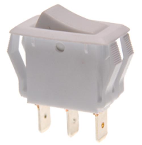 SPAR86W On-On White Appliance Style Rocker Switch