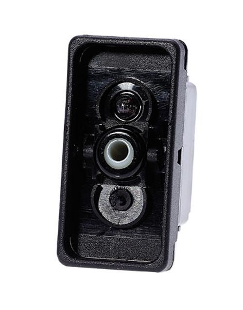 switch, marine, auto, rocker, on-off, single pole, sealed, Carling, V Series, one lamp, lit switch, LED, V1D1B601, RCV-37115598