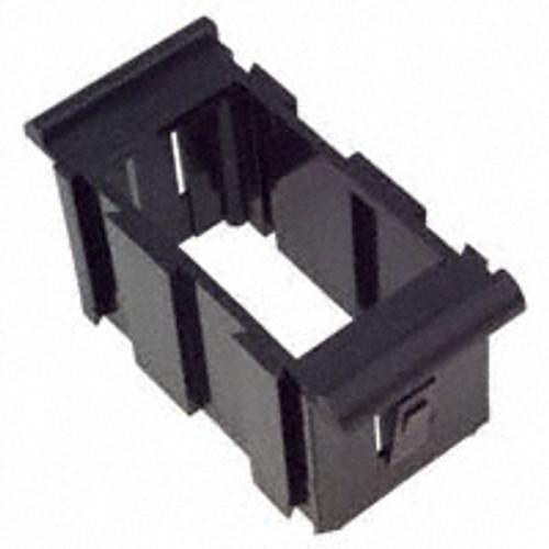 VMM-01 Carling V Series Rocker Switch Gangable Black Mounting Panel, Middle