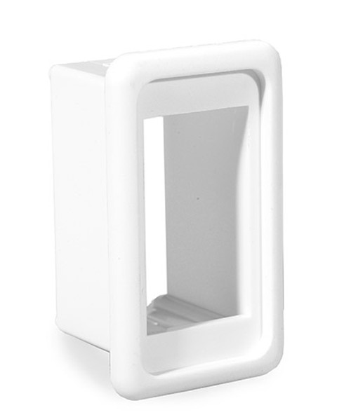 VMS-02 Carling V Series Rocker Switch Stand Alone White Mounting Panel