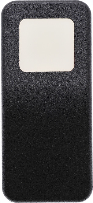 VV69Z00-000 Carling V Series Contura 11 Actuator, Hard Black, One white Square lens