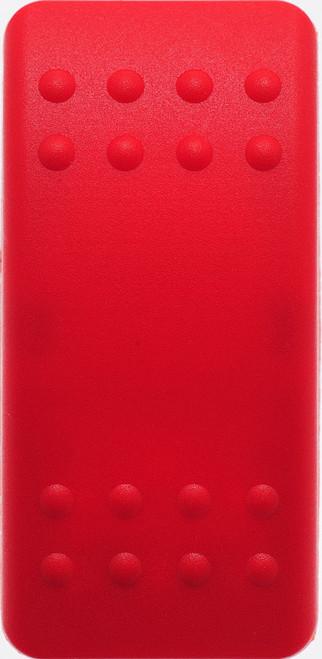 Carling, switch cap, actuator, v series, hard red, no lens, VVAZS00-000, Contura II