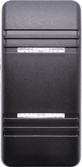 VVC2C00-000 Carling Contura 3 Hard Black Actuator, 2 clear bar lens