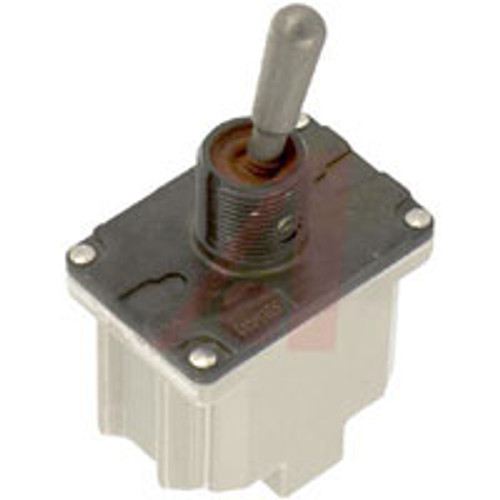 8501K9 Environmentally Sealed Toggle Switch, Nickel Plated Lever
