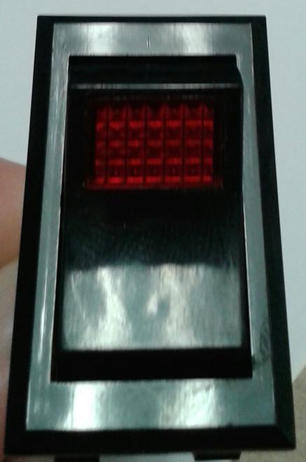 0851-0071 McGill Double Pole Illuminated Rocker Switch