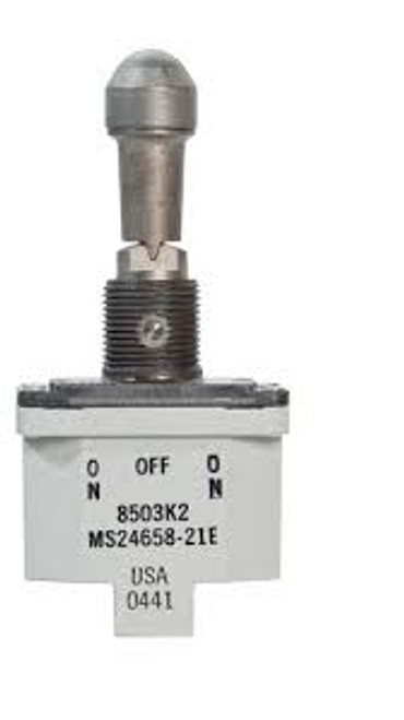 8503K2 Military Grade Environmentally Sealed Locking Toggle Switch On-Off-On