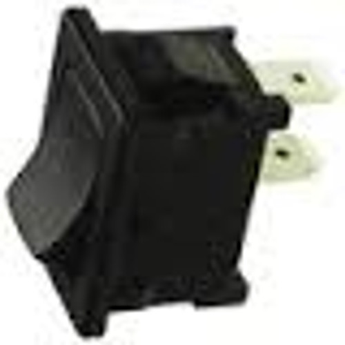 Miniature Rocker Switch, On off, quick connects, Marquardt, 1801.1102
