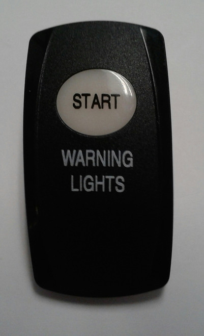 Start & Warning lights legends, Carling, actuator, V series, rocker switches