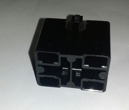 connector for illuminated plug, black, Carling VP series, HP1-01