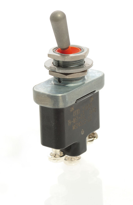 T9-MS1-23 Otto Environmentally Sealed On-On Toggle Switch, screw terminals