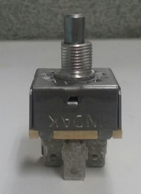 6G754A Fan Speed Control Rotary Switch, 3 speed w/short shaft