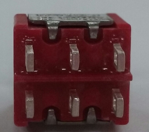 miniature toggle switch, solder lugs, double pole, on on, maintained, e switch, 100dp1t1b1m1qeh