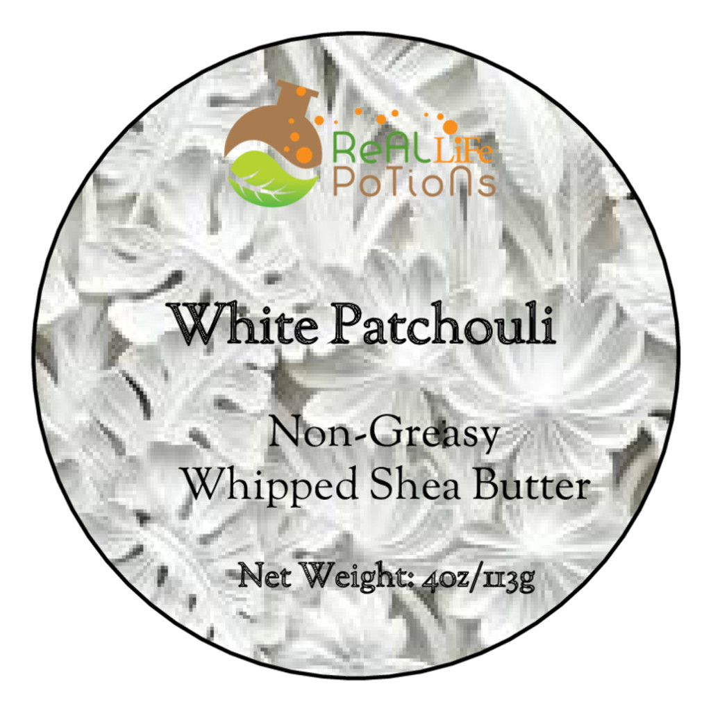 Whipped Shea Butter - White Patchouli
