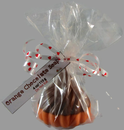 Orange Chocolate Kiss Soap