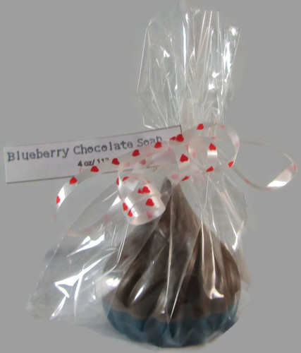 Blueberry Chocolate Kiss Soap
