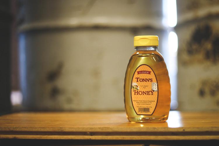 Ohio Clover Honey jar