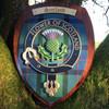 Scotland Plaque -Thistle Large