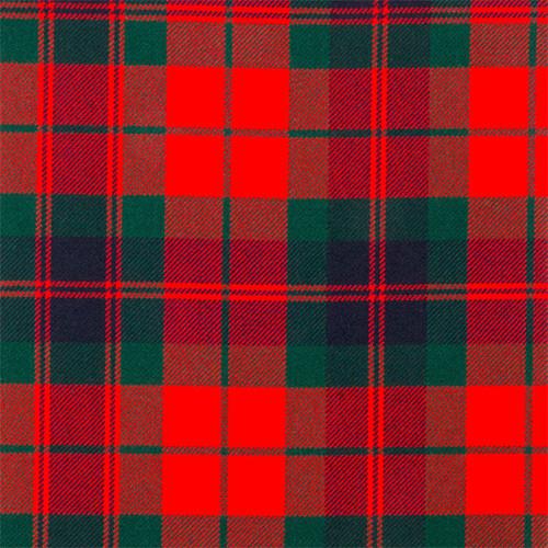 Heavy Weight 16oz 100% wool Tartan Woven in Scotland