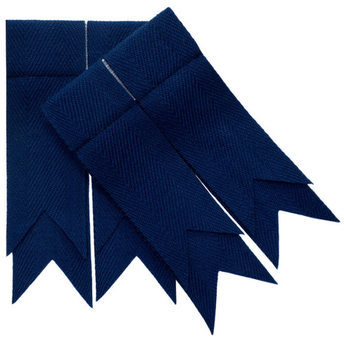 Navy Blue Plain Flashes
