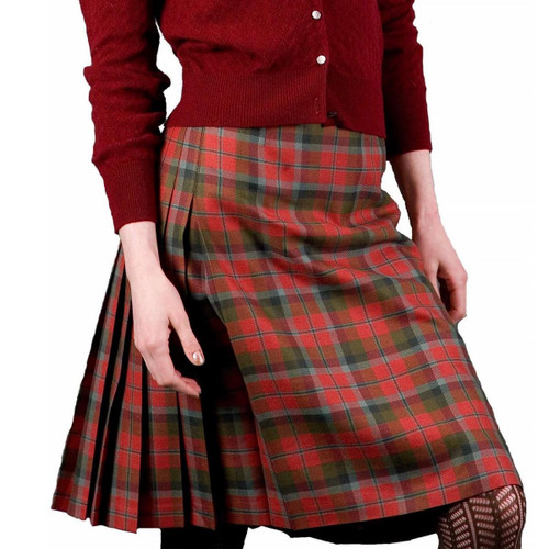 Clan Tartan Kilted Skirt