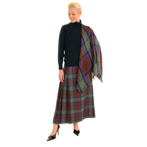 Hostess Kilted Skirt