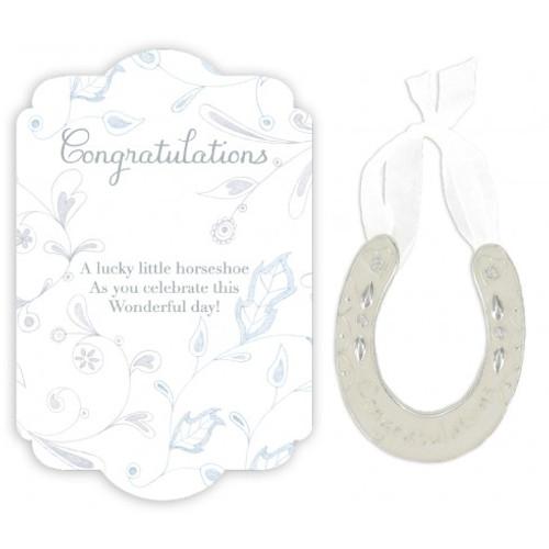 Congratulations wee lucky horseshoe