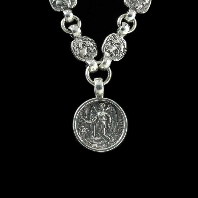 Nike Necklace, Sterling Silver links by Bowman Originals, Sarasota, 941-302-9594