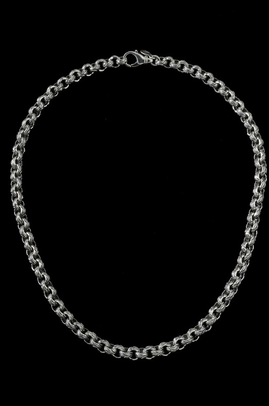 Leaf Chain engraved in Sterling Silver by Bowman Originals, Sarasota, 941-302-9594