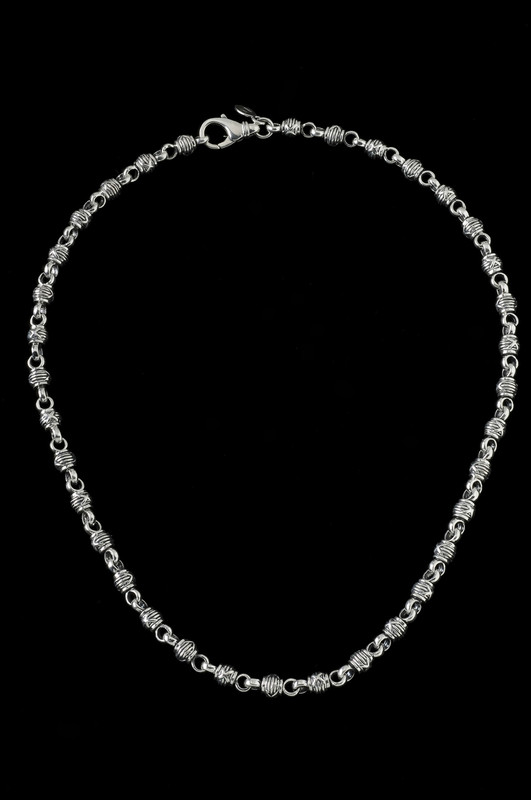 Harvest Ball Chain in Sterling Silver by Bowman Originals, Sarasota, 941-302-9594