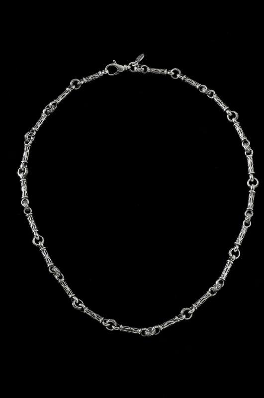 Harvest Bar Chain, silver links by Bowman Originals Jewelry, Sarasota, 941-302-9594