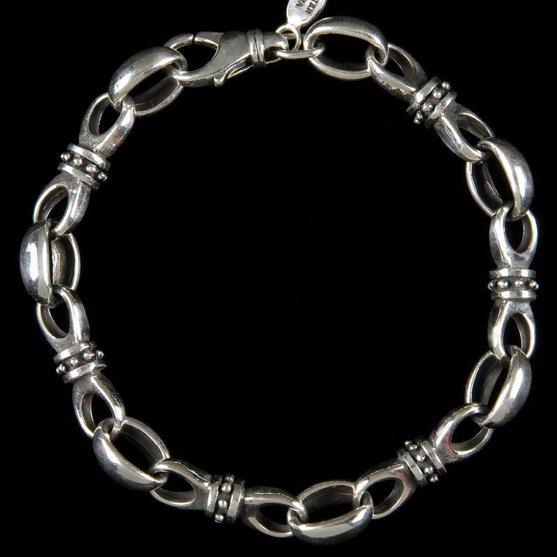 Key to my Heart Bracelet, silver, by Bowman Originals, USA