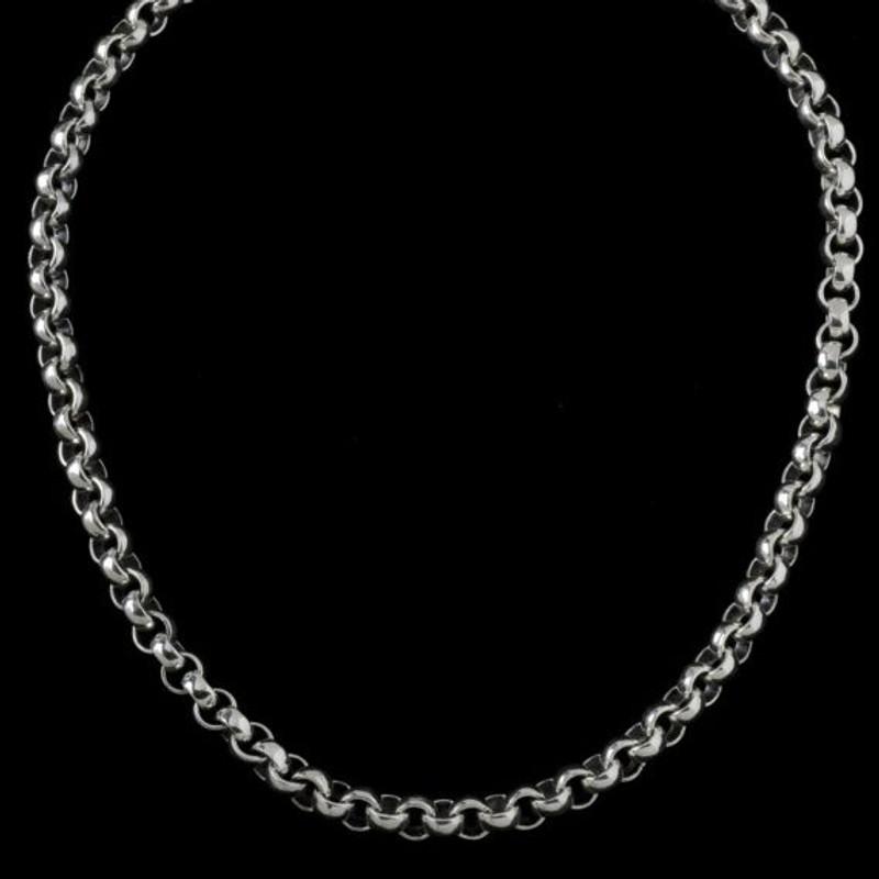 Neptune Chain, silver, handmade, Bowman Originals, Sarasota, 941-302-9594