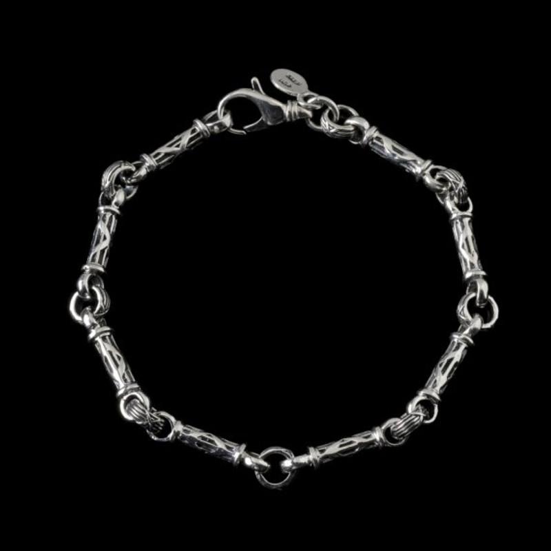 Harvest Bar Bracelet handmade and engraved in Sterling Silver by Bowman Originals, Sarasota, 941-302-9594.