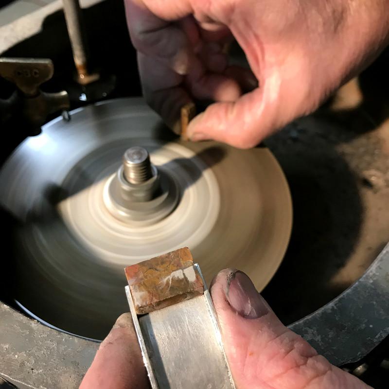 Cutting Stones for Bracelet Slides