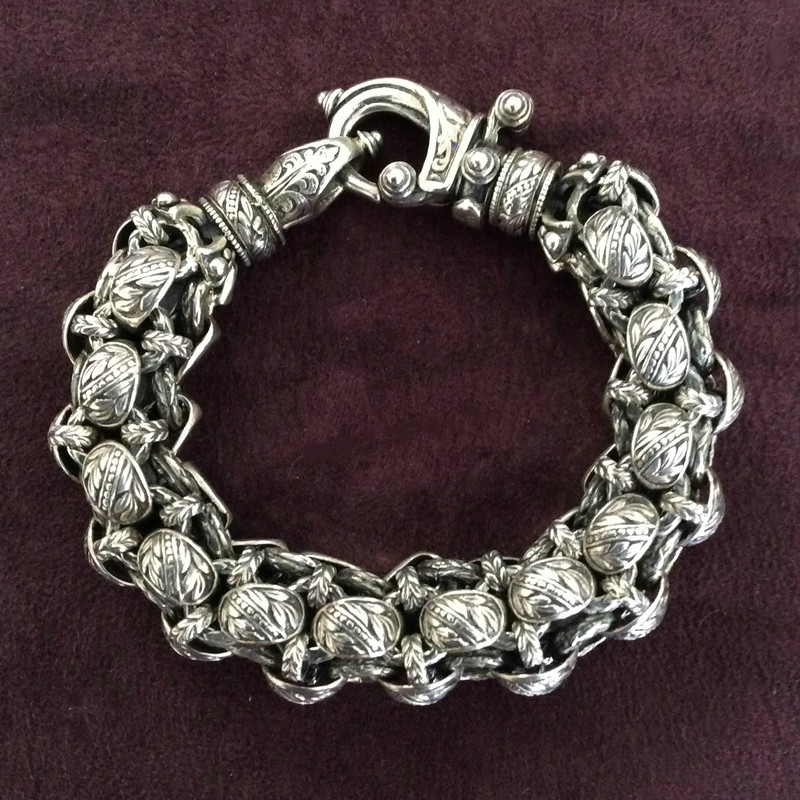 "Reviving the ""Rolled"" Bracelet,  Vintage  Bowman Originals"