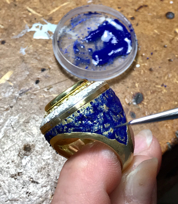 Packing Vitreous Enamel