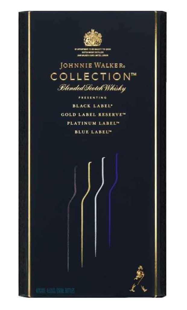 Johnnie Walker The Collection Scotch Whisky Pack 4x200ml