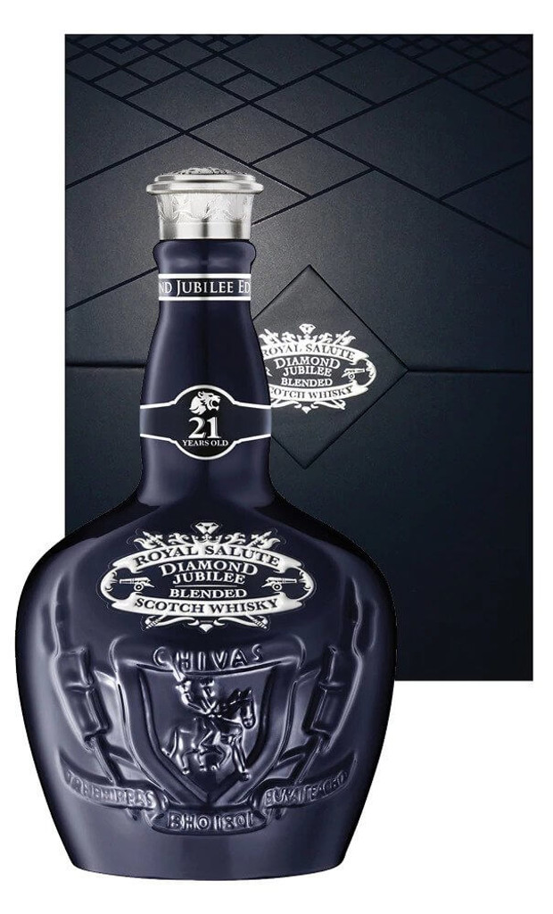 Chivas Regal Royal Salute 21YO Diamond Jubilee Scotch Whisky 700ml