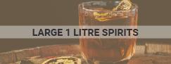 large 1 liter spirits alcohol graphic