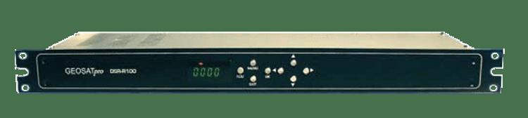 RECEIVER - GEOSATpro DSR-R100 RACK MOUNT W/XLR AND BNC