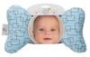 Blue Mod Baby Head Pillow