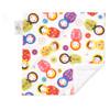 "Little Kukla Mini Baby Blanket (12"" x 12"")"
